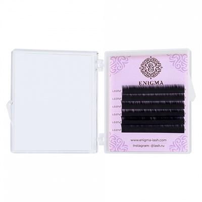 Черные ресницы Enigma 0,10/L (6 линий) - фото 5707