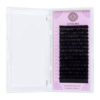 Черные ресницы Enigma 0,10/L (16 линий)