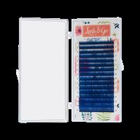 Цветные ресницы Lash&Go микс 0,10/D/7-14 mm (16 линий)