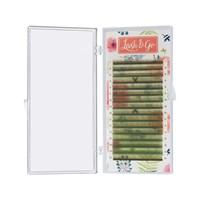 Цветные ресницы Lash&Go микс 0,07/C/7-14 mm (16 линий)