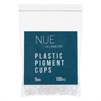 Капсы NUE для пигмента пластиковые 9мм,100шт/уп