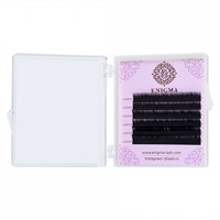 Черные ресницы Enigma 0,10/M (6 линий)