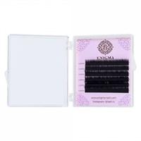 Черные ресницы Enigma 0,10/L (6 линий)