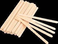 Шпатель для воска деревянный (50 шт)